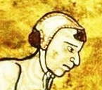Peasant in a simple coif, c 1180
