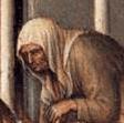 Beggar woman wearing a simple veil, 1423