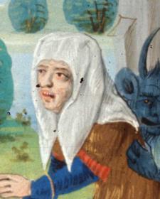 Woman wearing a veil, 1479