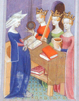 Open sleeved surecotes c. 1413