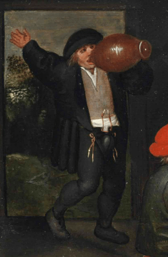 Joined hose with codpiece, ca. 1550