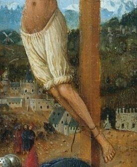 Christ in braies, 1420