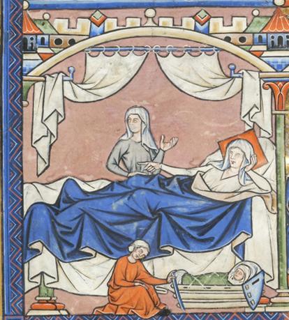 France, Paris, ca. 1244-1254 MS M.638 fol. 42v