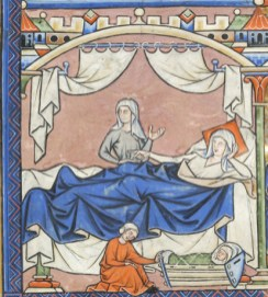 France, Paris, ca. 1244-1254 MS M.638 fol. 42v
