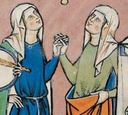 Simple veil, c. 1280