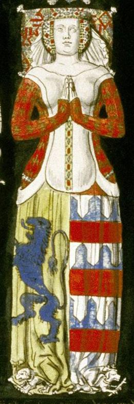 Effigies and Brasses: Hugues de Roucy A (1395). St Yved's Church, Braine, Aisne, France