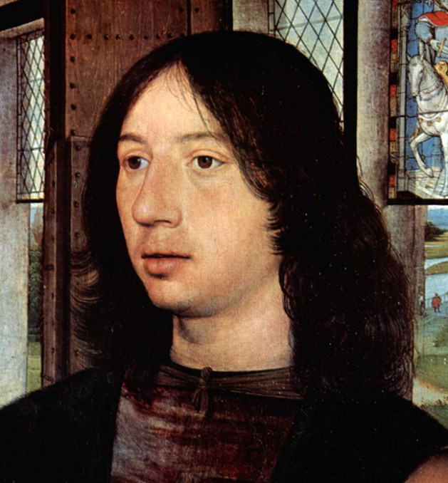 Long haired young man. 1487