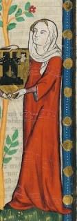 Loose tunic over a cote, c. 1300-1340