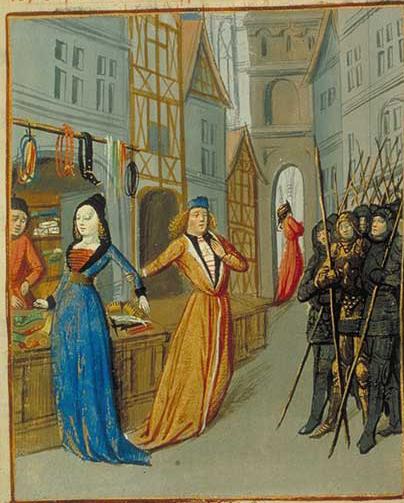 Orose, Faits et choses du monde, France (Lyon), vers 1480 Paris, Arsenal, manuscrit 5081, fol. 33v.