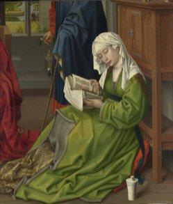 The Magdalen Reading. before 1438, Rogier van der Weyden