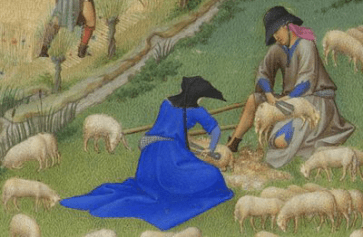 Très Riche Heures du Duc de Berry, attrib. Paul Limbourg, 1416