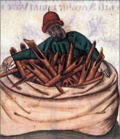 Cinnamon vendor, 1400's