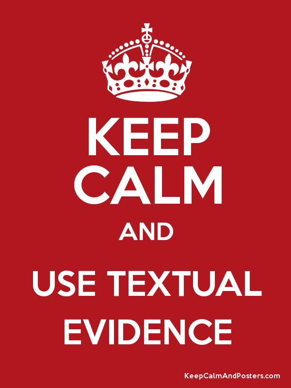 Image result for text evidence