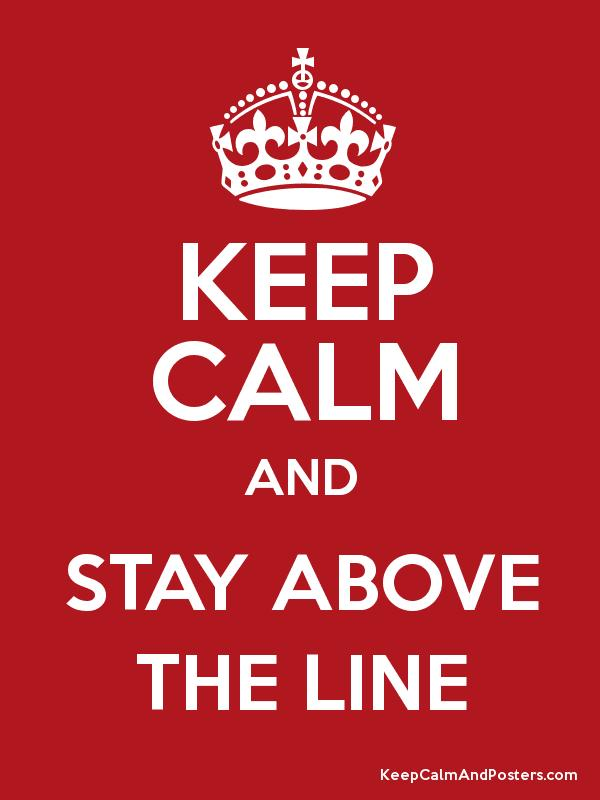 Image result for above the line