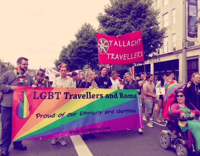 LGBT Pavee Bloc at Pride