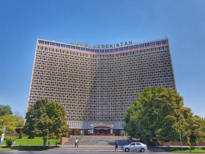 Hotel Uzbekistan - Photo by Freda Hughes