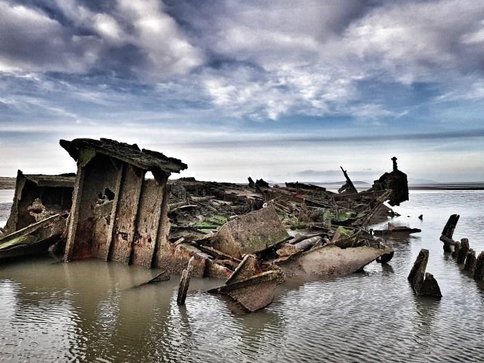 Wreck of the MV Irish Trader Photo by Freda Hughes