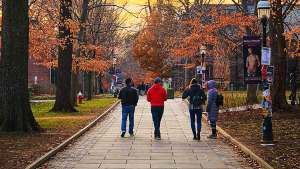 University Campus Students