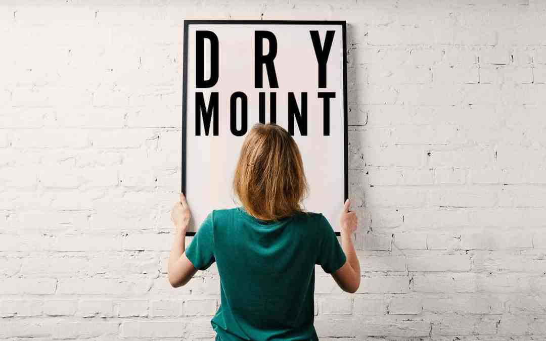 How Much Does Dry Mounting a Poster Cost?