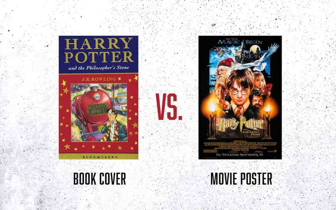 Movie Posters VS. Book Covers (The Difference in Design)
