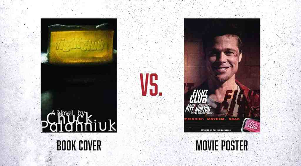 Fight Club Book Cover Movie Poster
