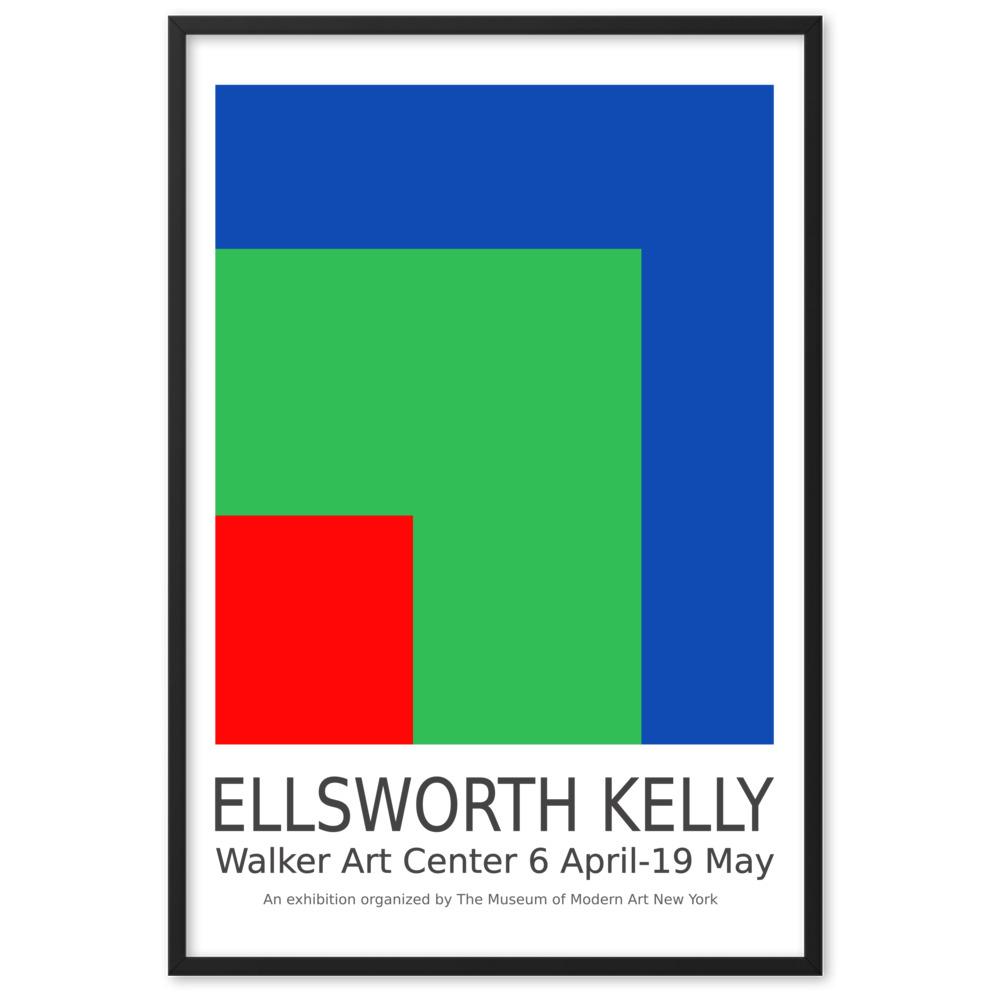 ellsworth kelly from new york poster