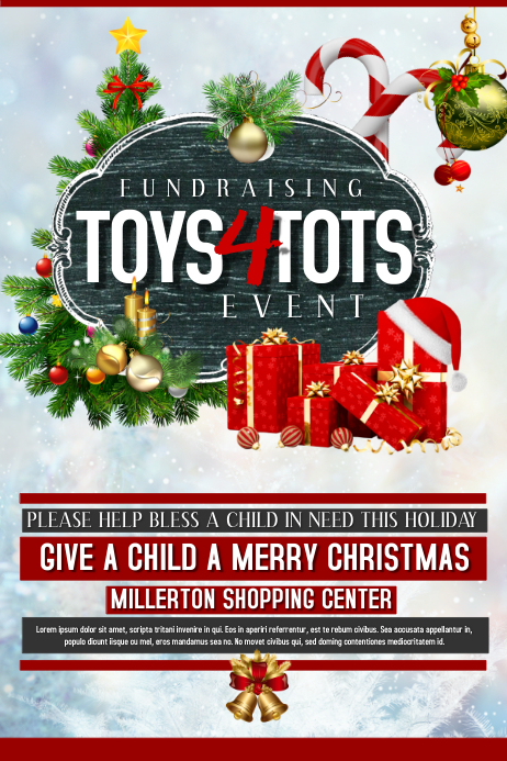Toys For Tots PosterMyWall
