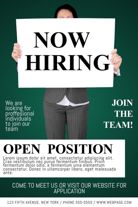 Now Hiring Flyer Template following job advertisement is job – Now Hiring Flyer Template