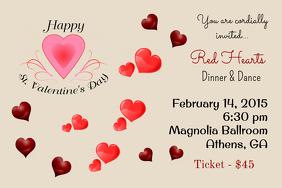 Valentine Party Invitation Template 20 Best Day Sample Valentines