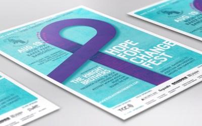 Hope for Change Fest Poster