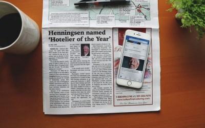 Press Release for Mike Henningsen of Plamondon Hospitality Partners