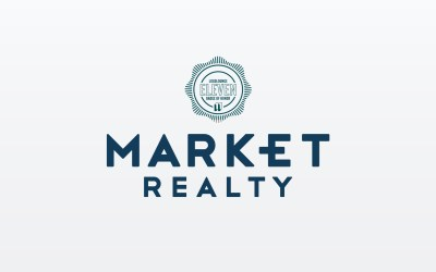 Market Realty logo featured in LogoLounge's Book 11