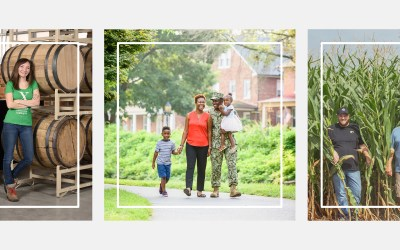 Frederick County Bank's Custom Photography