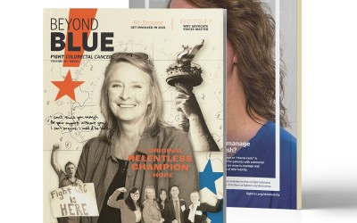 Fight Colorectal Cancer: Beyond Blue Issue