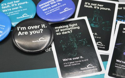 Heartly House – We're Over It Campaign