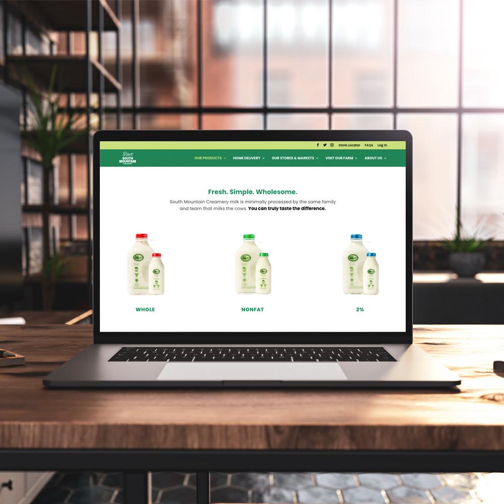 south mountain creamery website