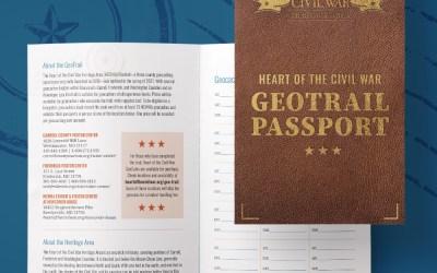 Heart of the Civil War Heritage Area – Geotrail Passport