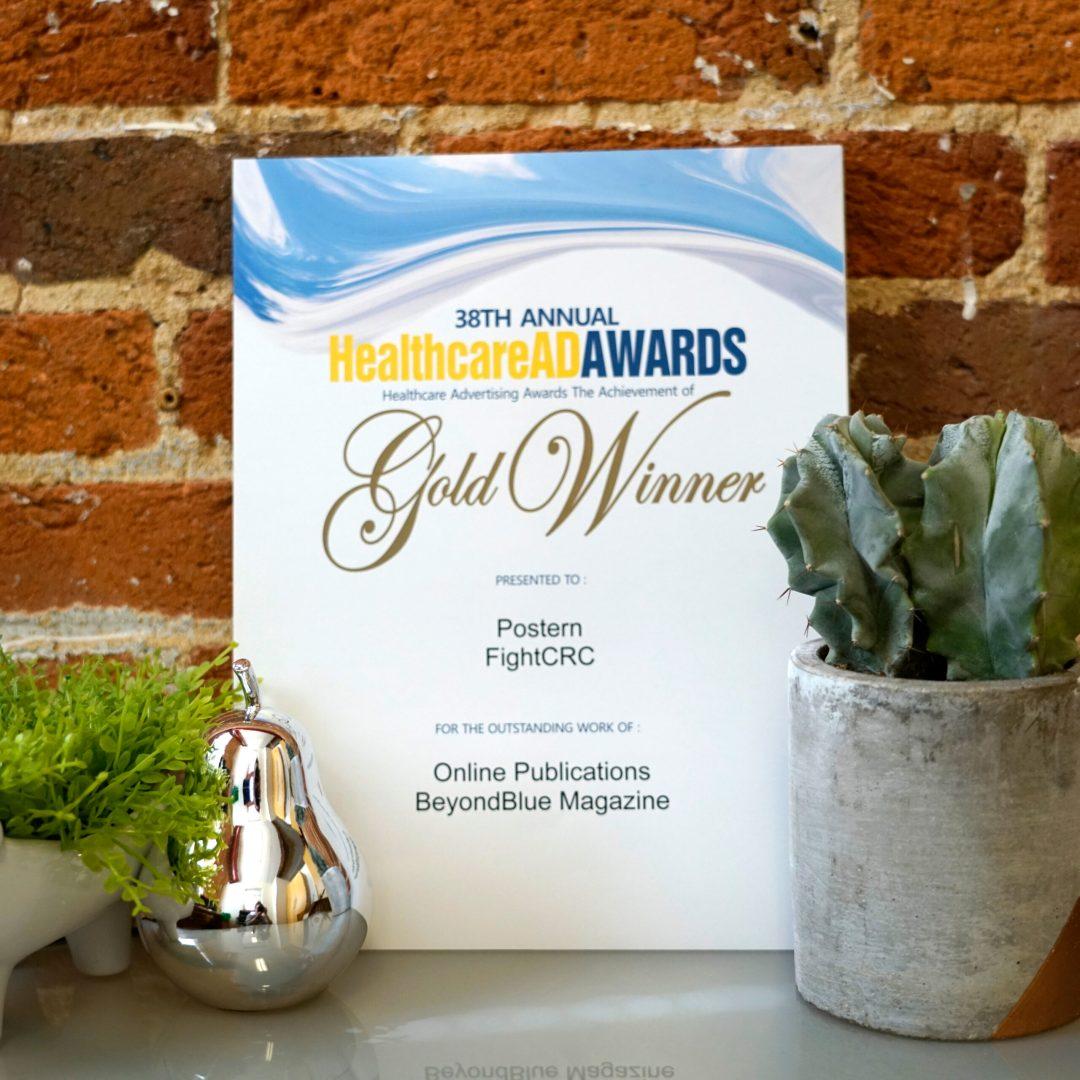 FightCRC for their BeyondBlue Magazine Award