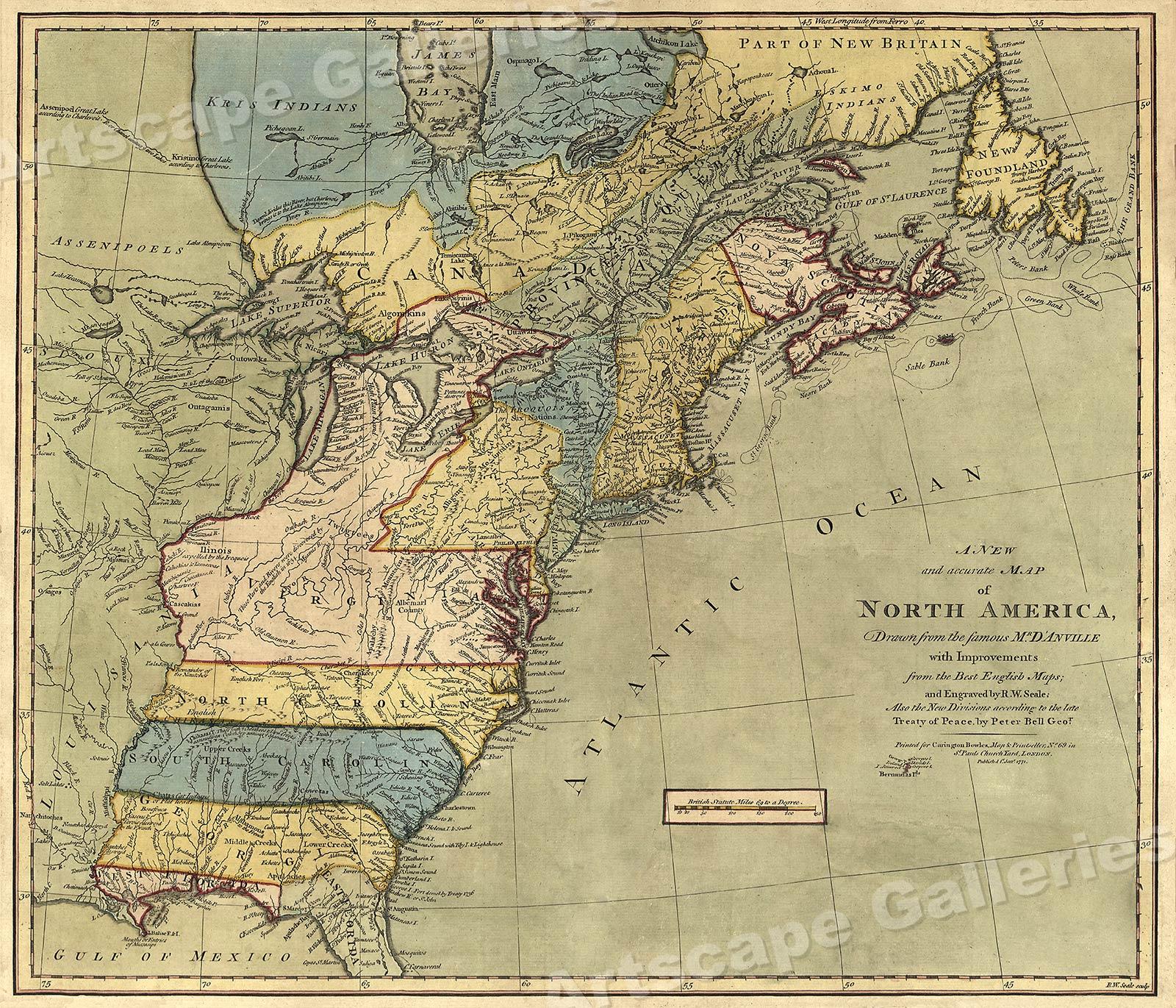 Early American 13 Colonies