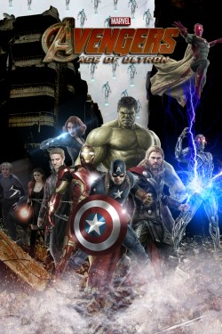 Avengers Age of Ultron poster 2 (fan-made)