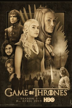 Game of Thrones – Season 5 poster