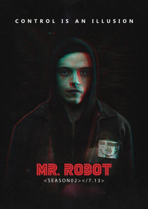 creative brief mr robot posterspy