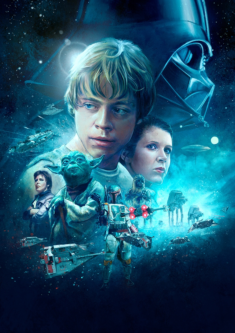 the empire strikes back posterspy