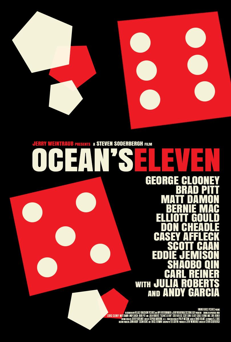 ocean s eleven posterspy