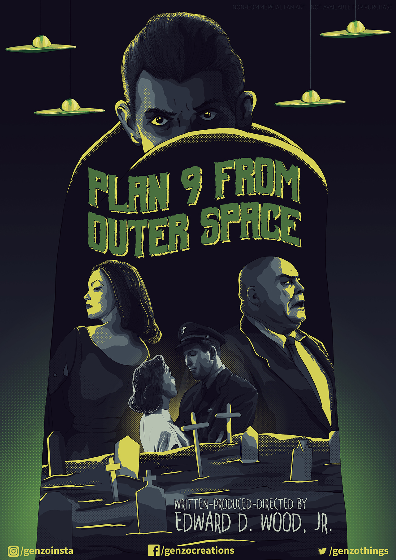 plan 9 from outer space posterspy
