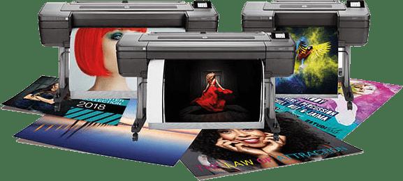 Create beautiful posters! HP DesignJet printer.