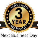 Printers are provided with a 3 year warranty, with next day service whenever you encounter an issue.