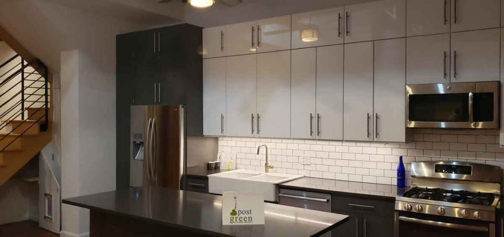 Move-In/Out Cleaning for Park Slope, kitchen cleaned by Post Green Cleaning.