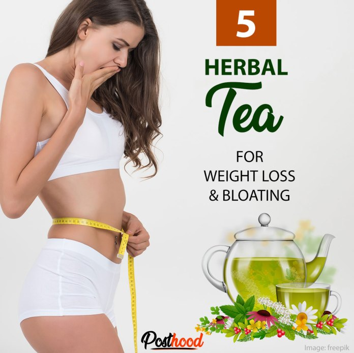 Herbal tea for weight loss and bloating. Best fat burning tea to get rid of belly fat fast.