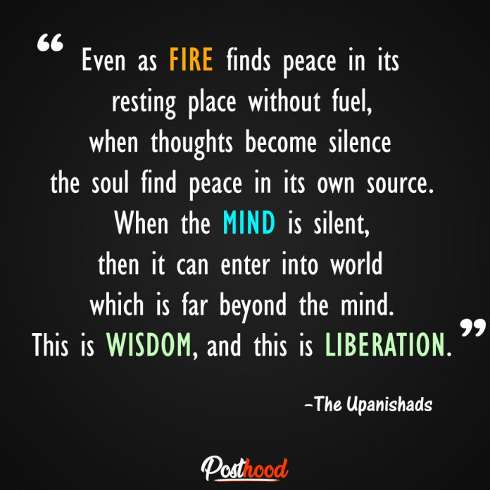 This is wisdom, and this is liberation. Best Motivational Quotes for stress relief. Quotes to Relieve Stress.